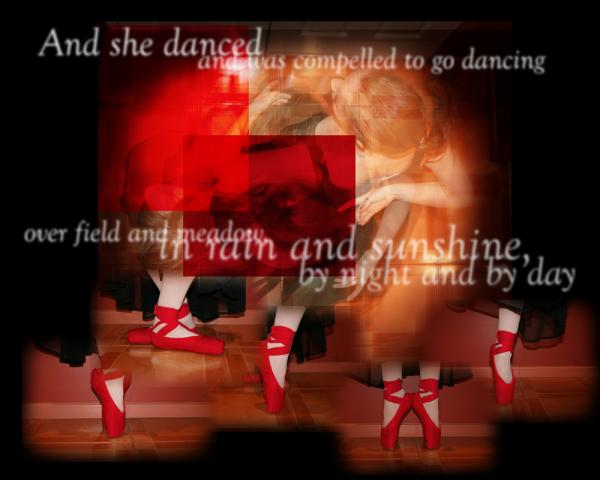 The Red Shoes 3 of 6 in a series of artworks based on fairy tales